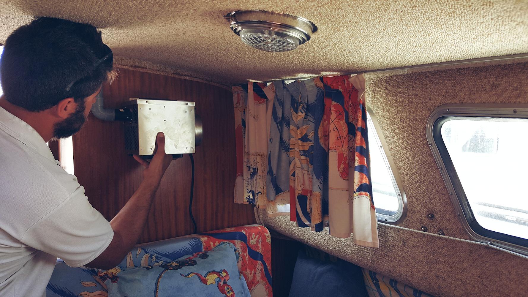 boat cabin dehumidifiers by Ecor Pro