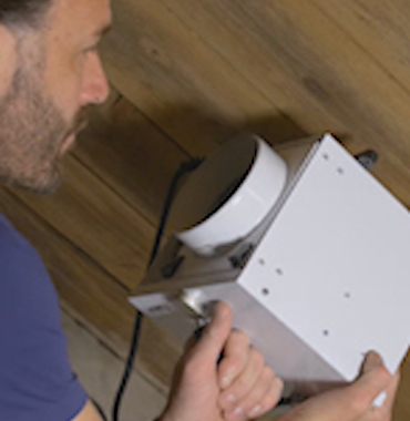 installing dryfan dehumidifiers by Ecor Pro