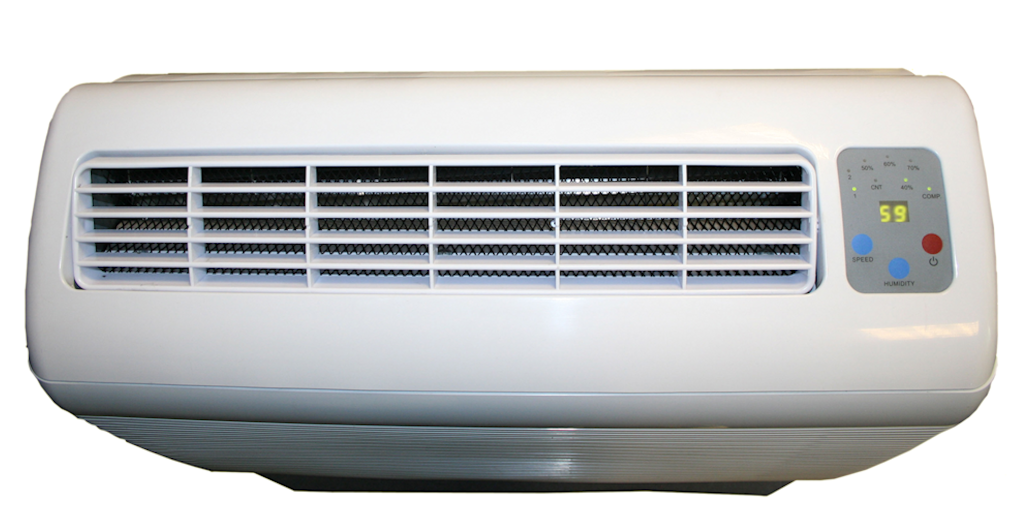 d850 top view dehumidifiers by Ecor Pro