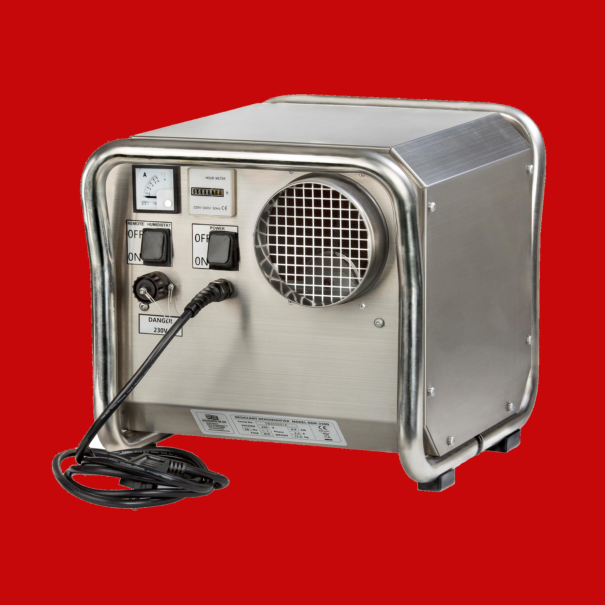 dehumidifier DH2500INOX EPD200PRO dehumidifiers by Ecor Pro