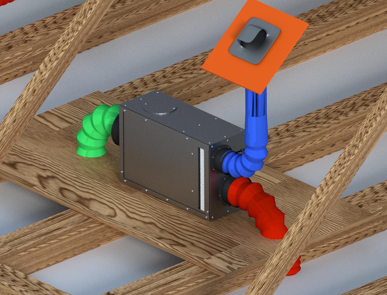 attic dehumidifier ld800h dehumidifiers by Ecor Pro