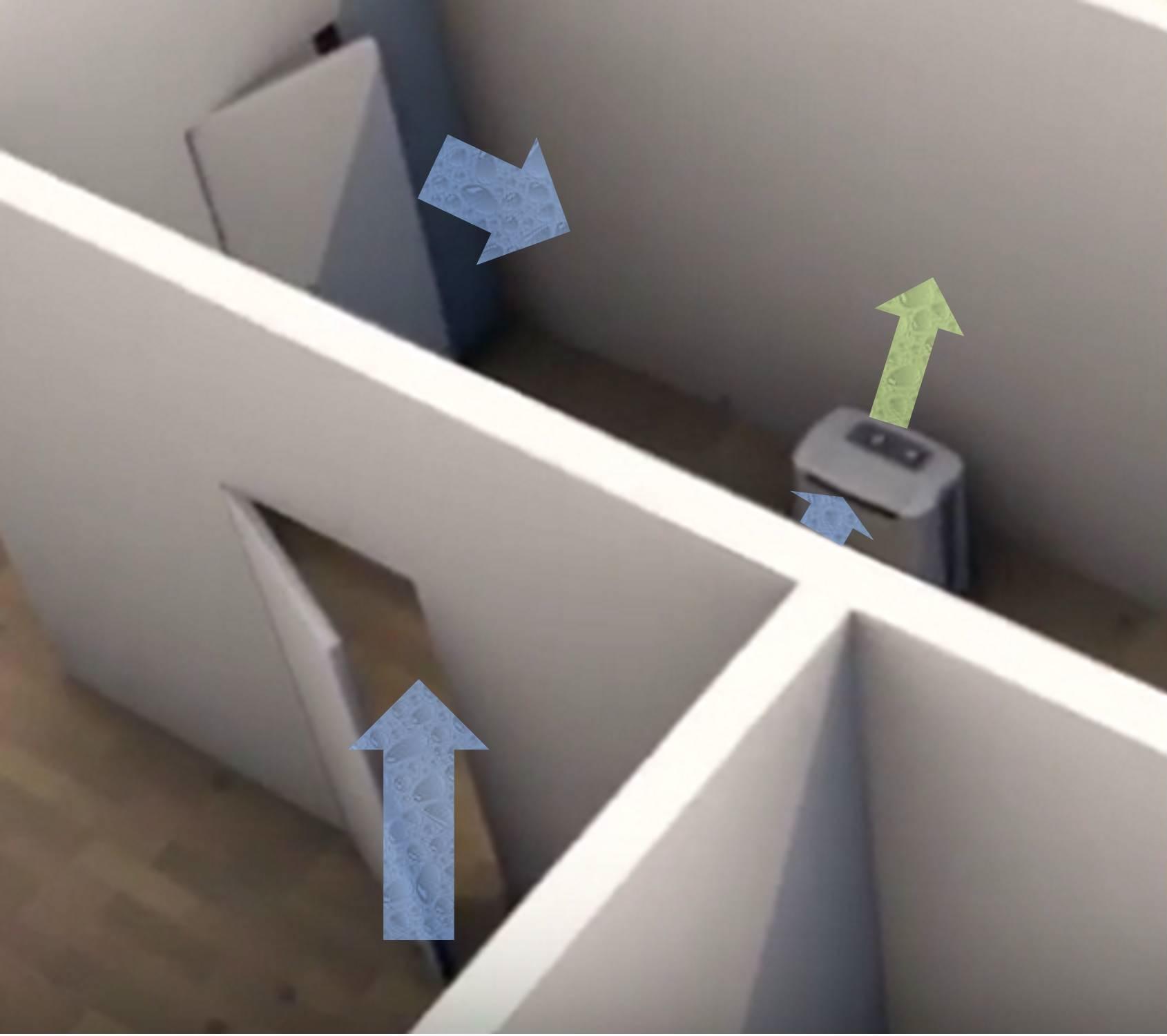 toyotomi dehumidifier positioning dehumidifiers by Ecor Pro