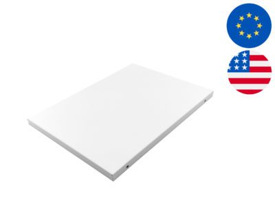 DH800 or EPD30 dehumidifier lid covers in stainless steel and in white