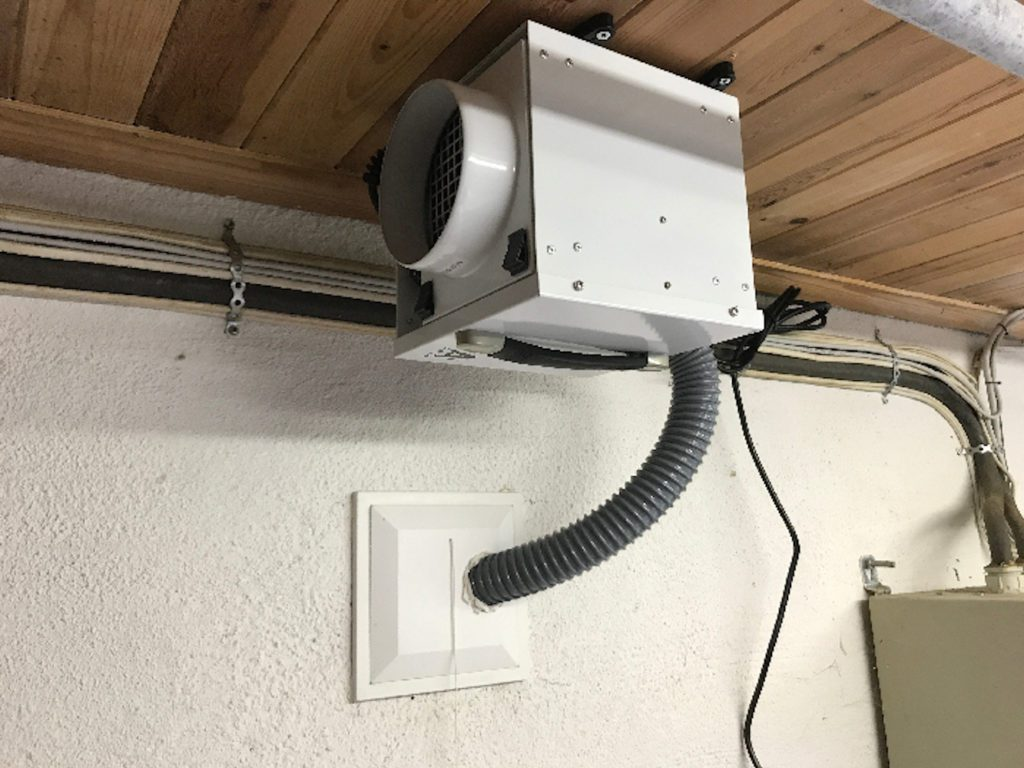dh800 ceiling mounted dehumidifiers by Ecor Pro