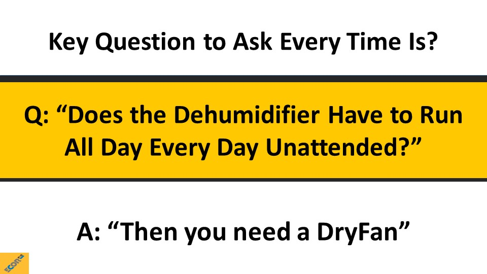 dehumidifier training slide 34