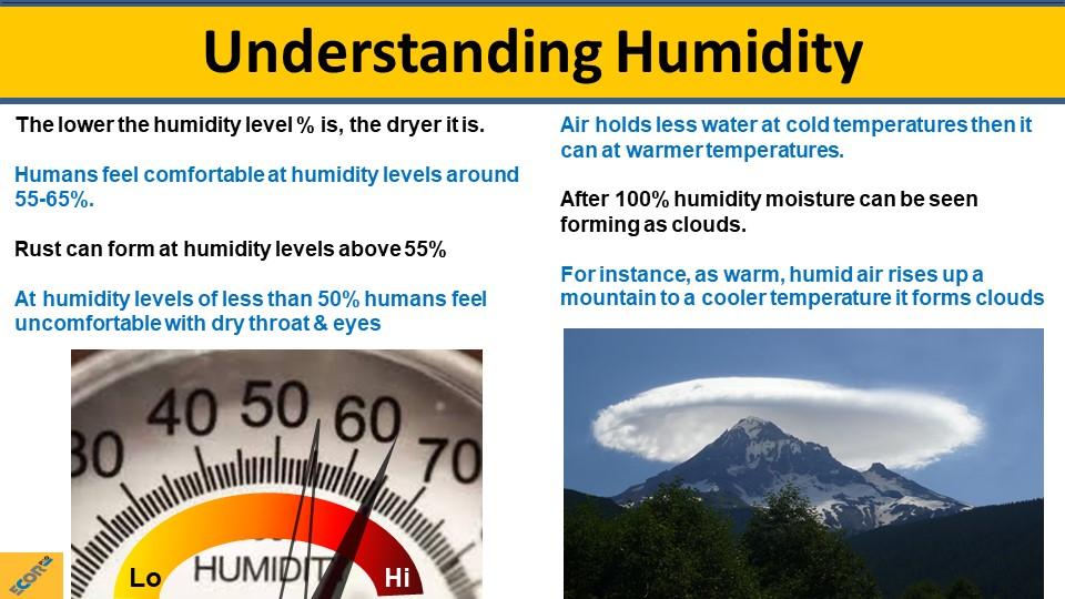dehumidifier training slide 5