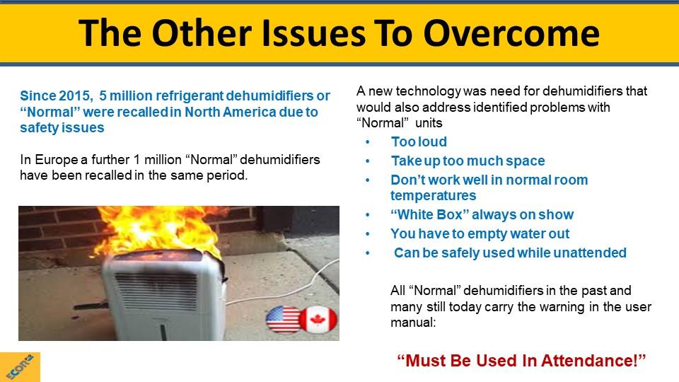 dehumidifier training slide 7