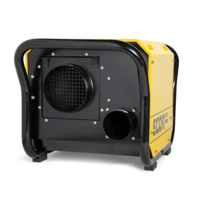 Restoration dehumidifier all round views perfect for crawl spaces and warehouses